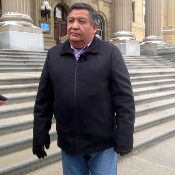 Chief Steve Courtrielle, Mikisew Cree Nation