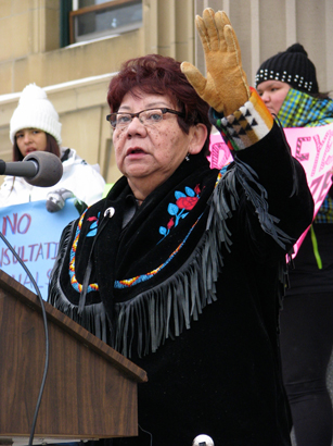 Driftpile First Nation Chief Rose Laboucan