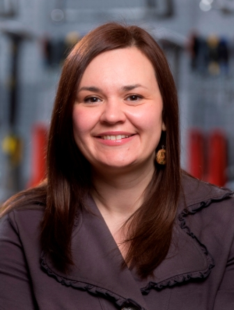 Aboriiginal Engagement Manager Anna Wowchuk