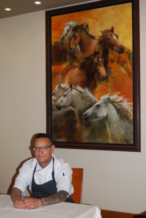 Chef Shane Chartrand has cooked for many celebrities but his finest memories are from the charity work he has done.