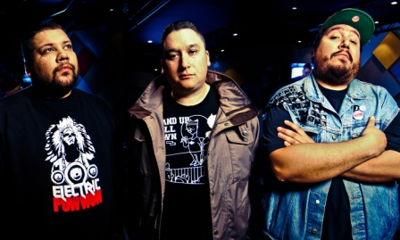 The award winning group A Tribe Called Red will be on the main stage at the Calgary Folk Music Festival on July 25.