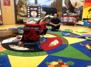 Elder Whiskeyjack's input and perspective is treasured by students, staff and the community.