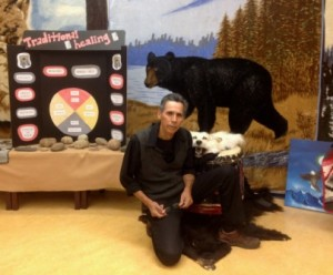 Elder Francis Whiskeyjack has been guiding Amiskwaciy Academy students in the ways of the Medicine Wheel for the past 13 years.