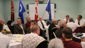 Aboriginal veterans meet at their AGM at the Chateau Louis Centre in Edmonton.  Article and photos by Terry Lusty