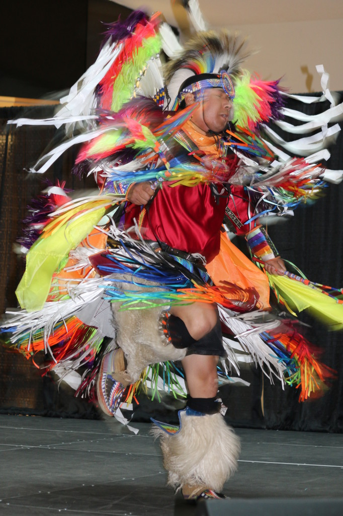 A dancer from last year's National Aboriginal Day celebrations.