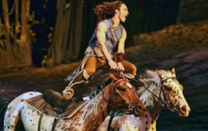 Odysseo by Cavalia is a dazzling spectacle of equestrian arts, performing arts, acrobatics and theatrical showmanship, in Edmonton until August 10.  Article by Brandi Morin, Photo supplied.