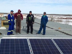 Montana First Nation is using solar panels and other green energy sources to build healthier and energy effecient homes and offices. Article by Brandi Morin
