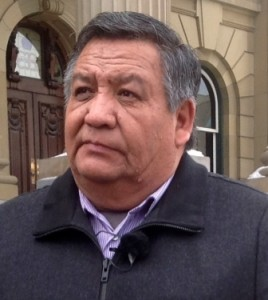 Mikisew Cree First Nation Chief Steve Courtoreille
