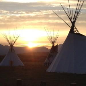 Site of the historic signing of the Buffalo Treaty on Montana's Blackfeet Reservation.     Photo by Amanda Hardy/WCS