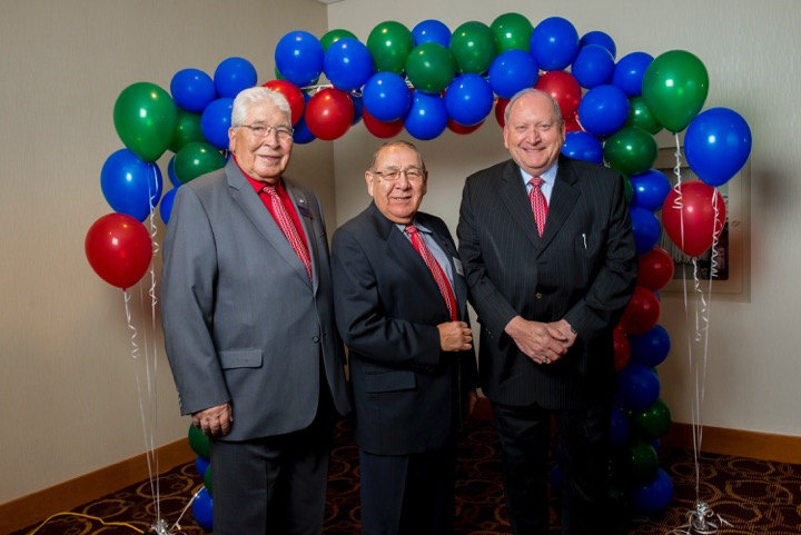 BBMA Founders Herb Belcourt, Orval Belcourt and Georges Brosseau Q.C.
