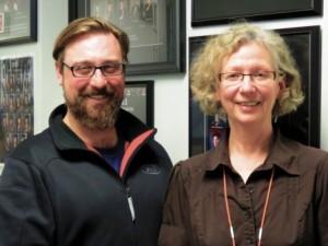 BSCE Principal Scott Meunier and Vice-Principal Mavis Averill