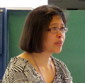 Presenter Roxanne Felix-Mah