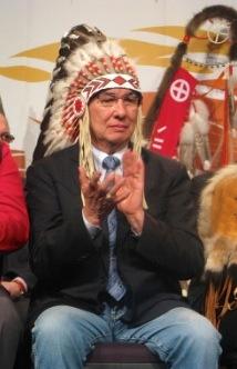 Chief Wilton Littlechild;  Article by John Copley