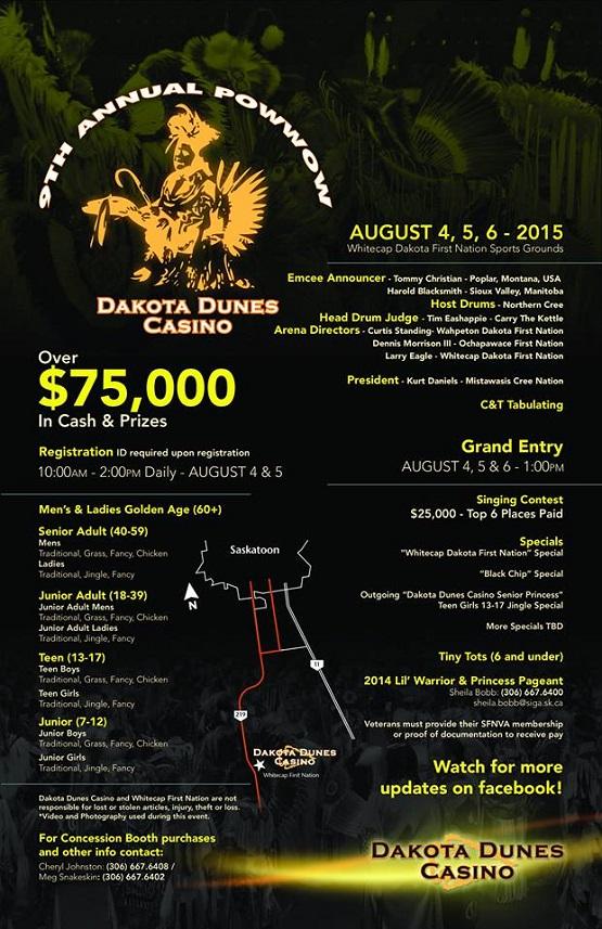 Dakota Dunes Casino Pow Wow