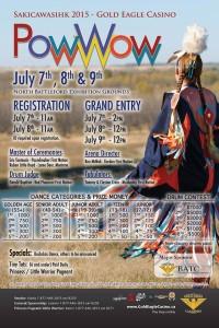 gold eagle casino powwow