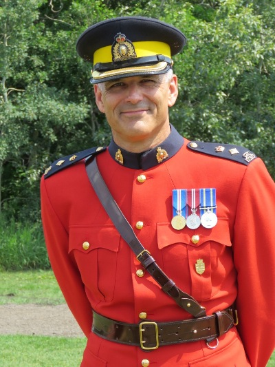 Superintendent Kevin Murray (Assistant District RCMP Commander for Central Alberta District).