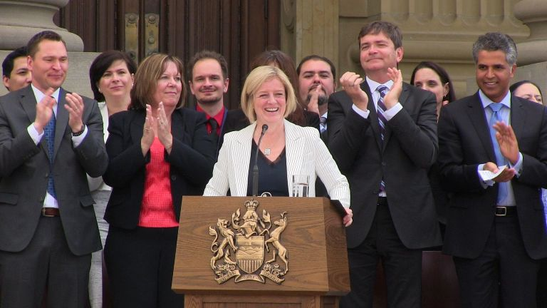 On July 7, Alberta Premier   Rachel Notley asked each member of her cabinet to review their policies to identify changes that might be required based on the principles of the UN Declaration of Rights for Indigenous Peoples.
