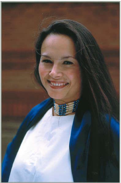 Aboriginal Art Park committee member, artist Christine Frederick