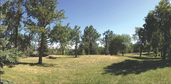 Edmonton's Queen Elizabeth Park - Future home of Aboriginal Art Park