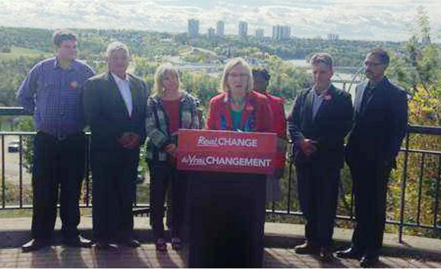 Liberal Candidates in Edmonton with