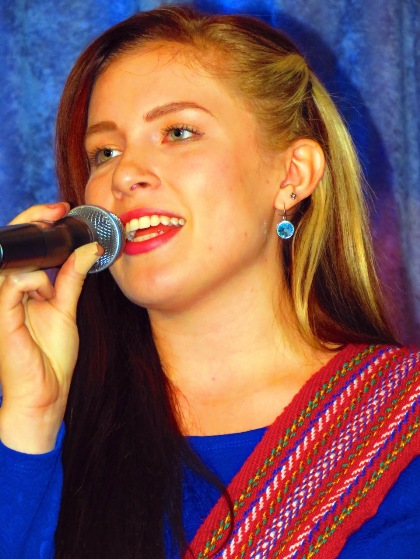 National and Cree Anthems singer, Sarah Wolfe