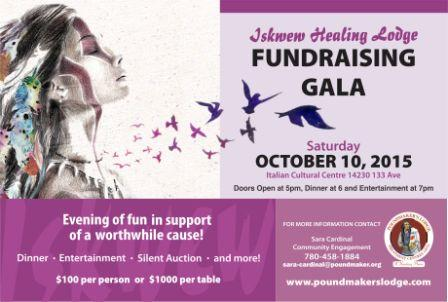 Poundmaker Postcard Fundraising Gala Final