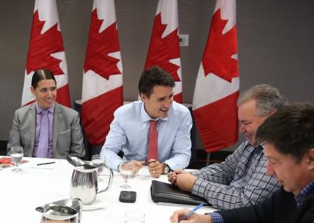 Liberal Party of Canada leader Justin Trudeau was in Winnipeg recently announcing his plan for reconciliation with the Metis Nation.