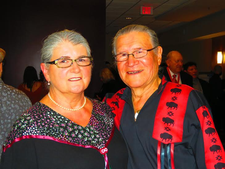 Elder Jerry Wood and his wife Gisele
