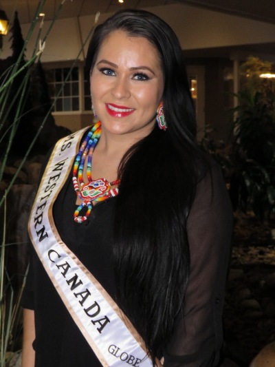 Barbara Dumigan-Jackson is the reigning Ms Western Canada Globe pageant Queen. She will vie for Ms Canada Globe title in Regina on April 1-2