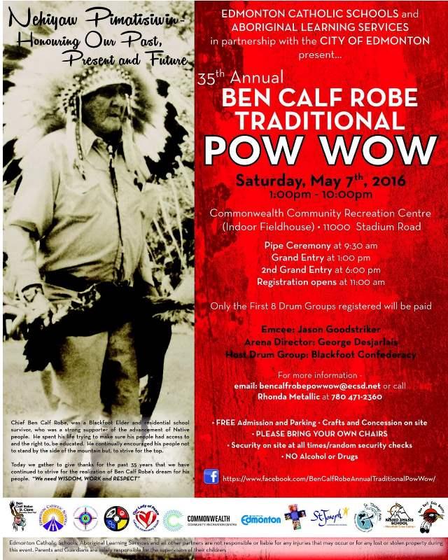Ben Calf Robe Pow Wow