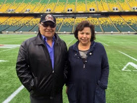 Elders Fred Campion and Bettie Letendre