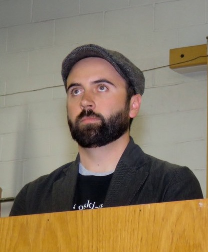 Inner City High School teacher Dan Scratch.