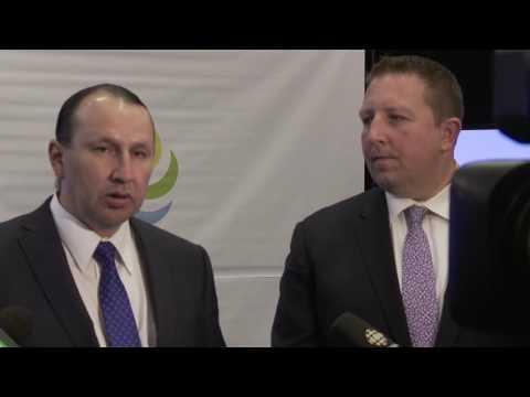 Northlands CEO Tim Reid and Treaty 6 Grand Chief Tony Alexis
