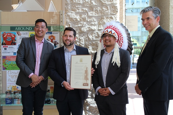 The City of Edmonton and both the Edmonton Public and Edmonton Catholic School Boards issued a proclamation honouring the principles of reconciliation and commending the curricular changes that have been made.