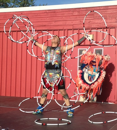 Hoop Dancer Lakota Totoosis