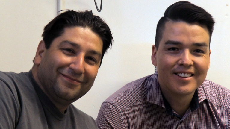 Sean Lessard and Naim Cardinal are both well known youth facilitators who go the extra mile to ensure that their students have every opportunity to succeed.