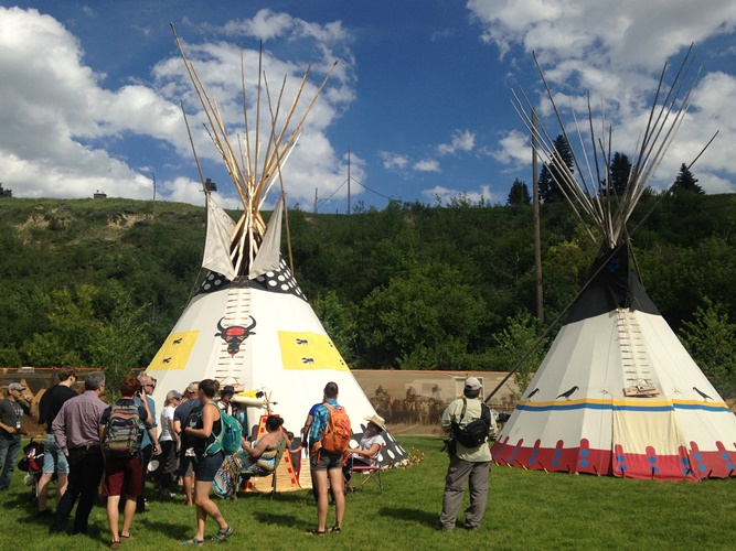 Calgary Stampede Features New Indian Village In The