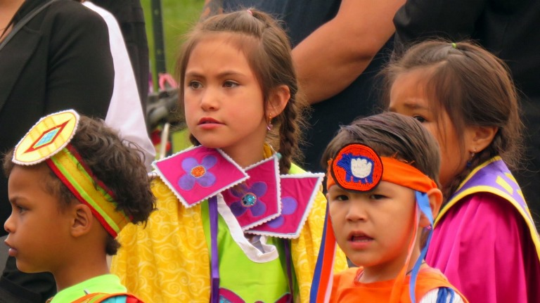 Young dancers led the way at NAD June 21 celebrations in Edmonton Borden Park