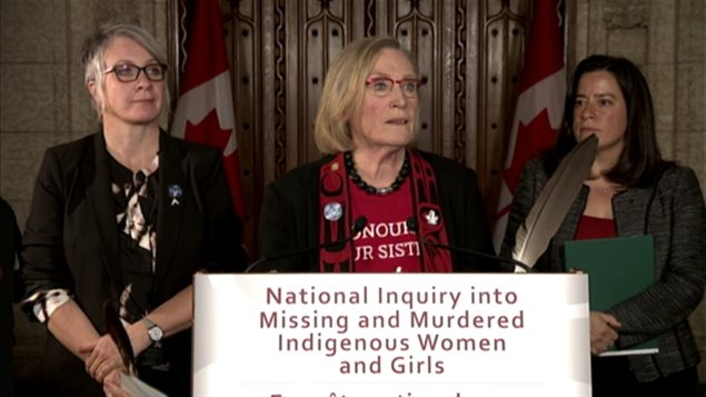 Ministers Hajdu, Bennett and Wilson-Raybould recently completed the three month pre-inquiry and have now announced the names of five commissioners for the National Inquiry into Missing and Murdered Indigenous Women and Girls.