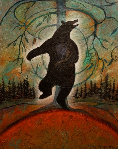 Dancing Bear by Nancy Desjarlais.