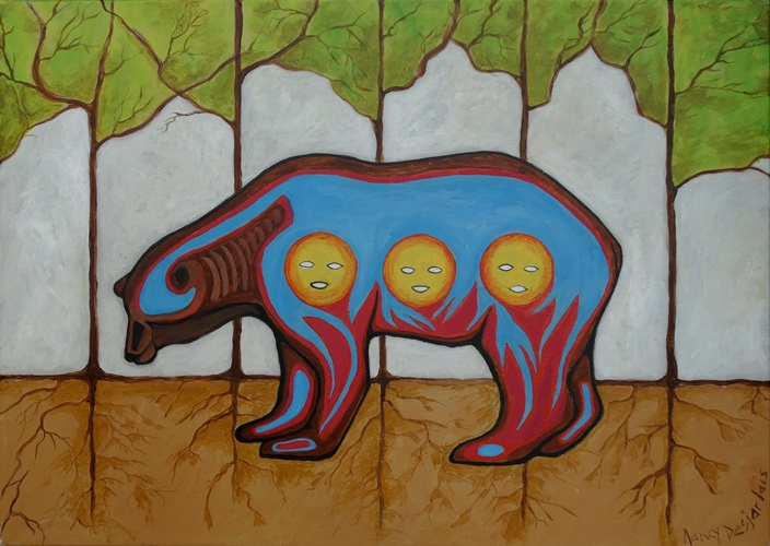 Medicine Bear by Nancy Desjarlais.