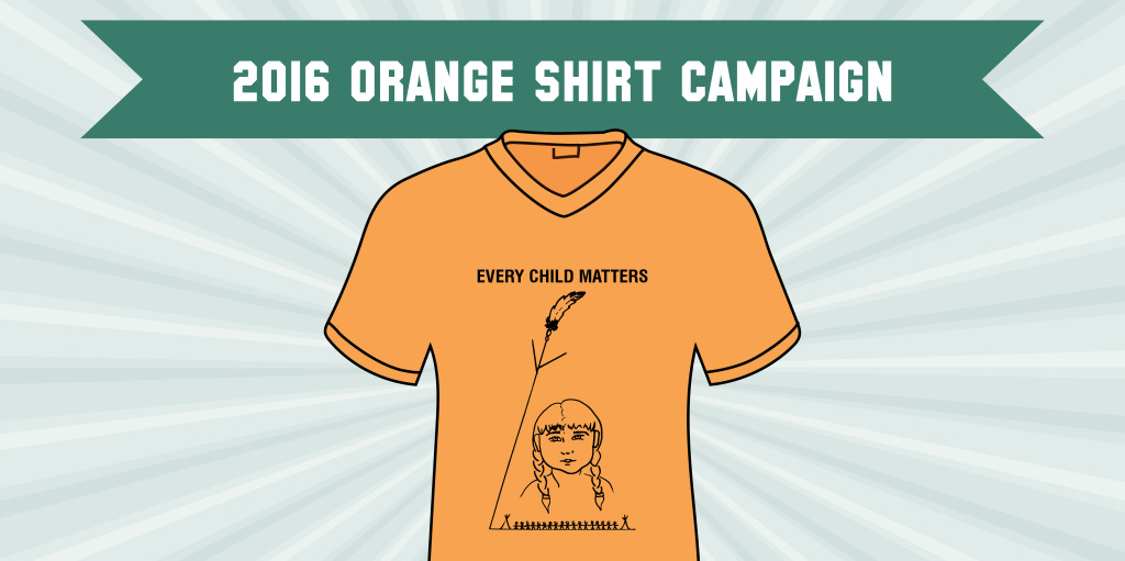 Every Child Matters! Show you care by wearing an orange shirt on September 30 and learn more about what you can do to facilitate reconciliation.