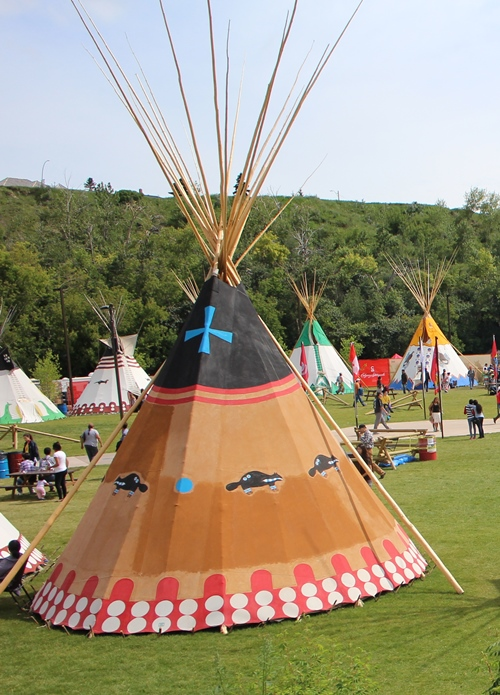 Calgary Stampede Featured New Indian Village Alberta