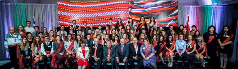 The 2016 group photo of BBMA Founders, Elders and recipients.