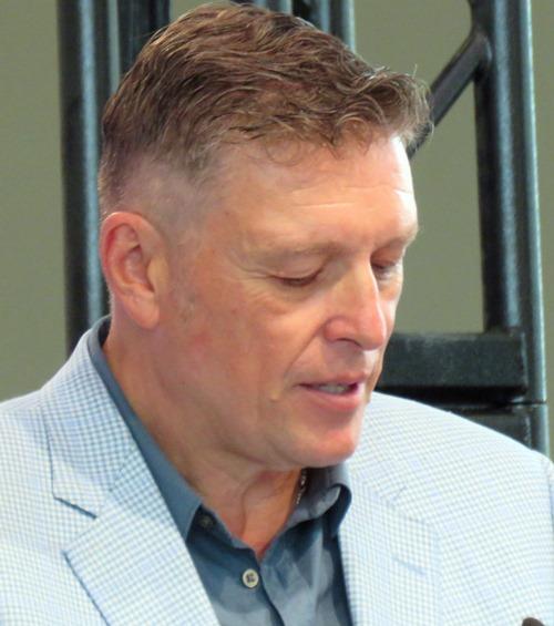Bob Black, Executive VP of Edmonton Arena Corp,