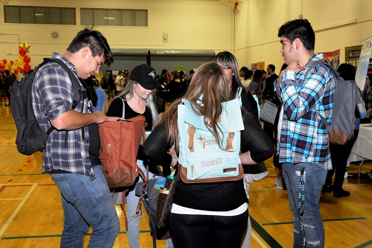 TAWOW event welcomes Indigenous students to the University of Alberta.