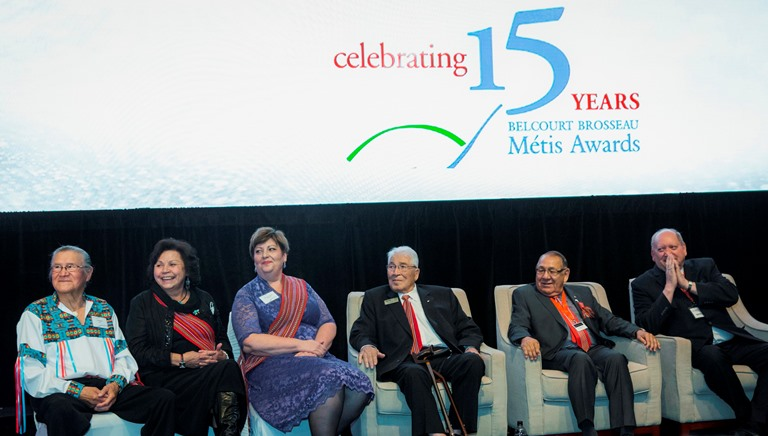 The BBMA Founders and Elders at the 15th Anniversary Gala Event held September 24 in Edmonton.
