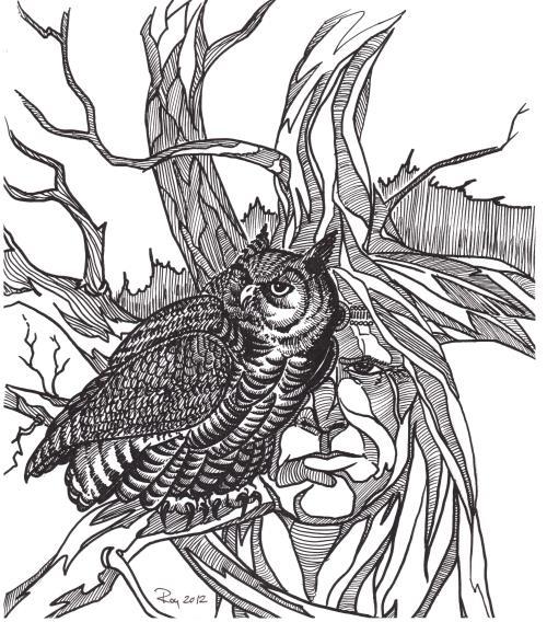 Art by Bill Roy (Courtesy Wakina Gallery)