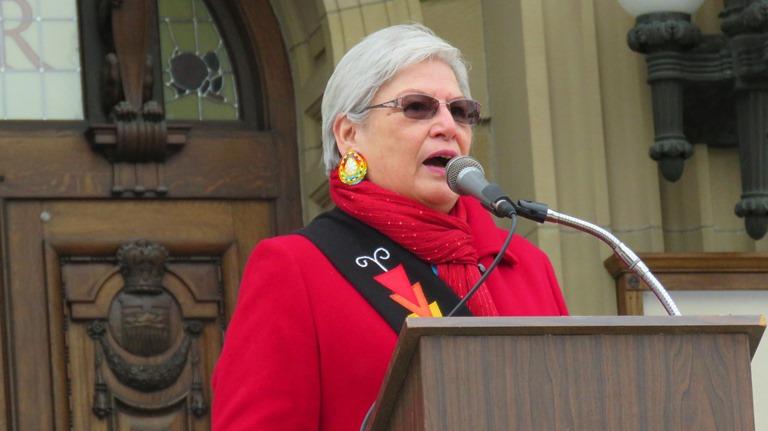 Elder Marilyn Buffalo