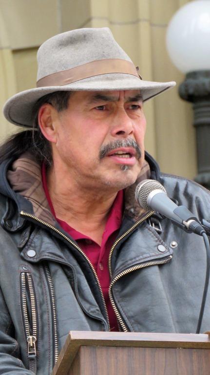 Poundmaker's Cultural Advisor Robert Johnson